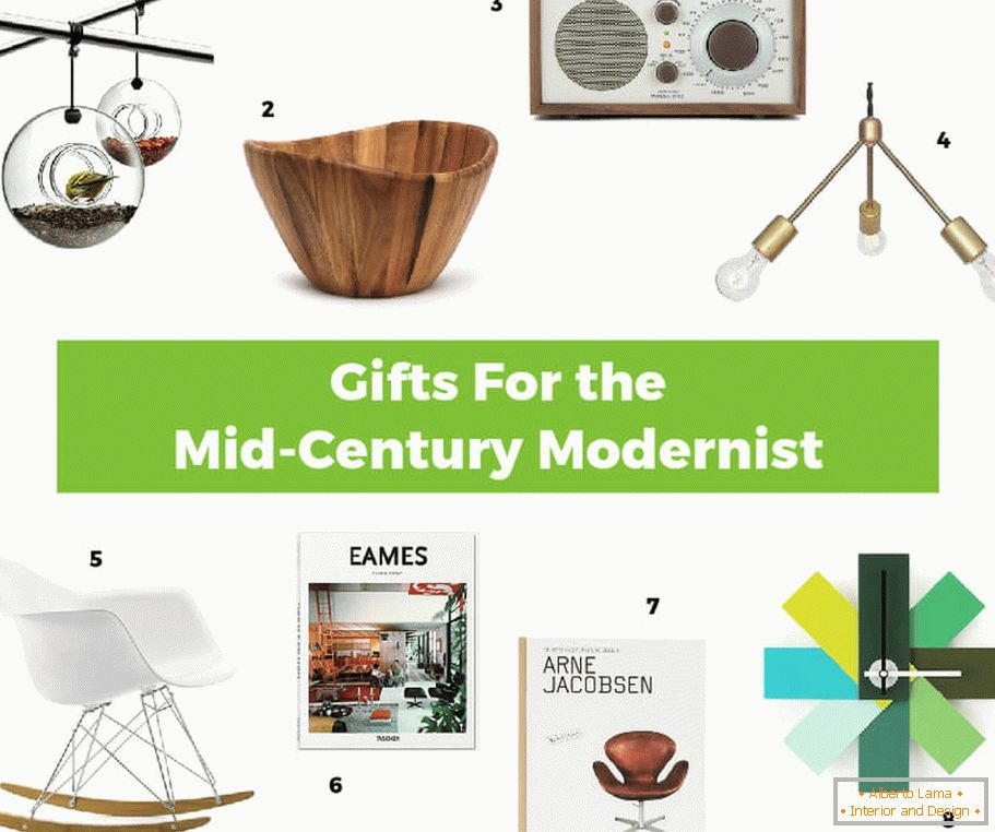 Interesting gift ideas in the MCM style