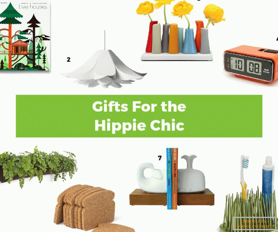 Interesting gift ideas in the style of hippies