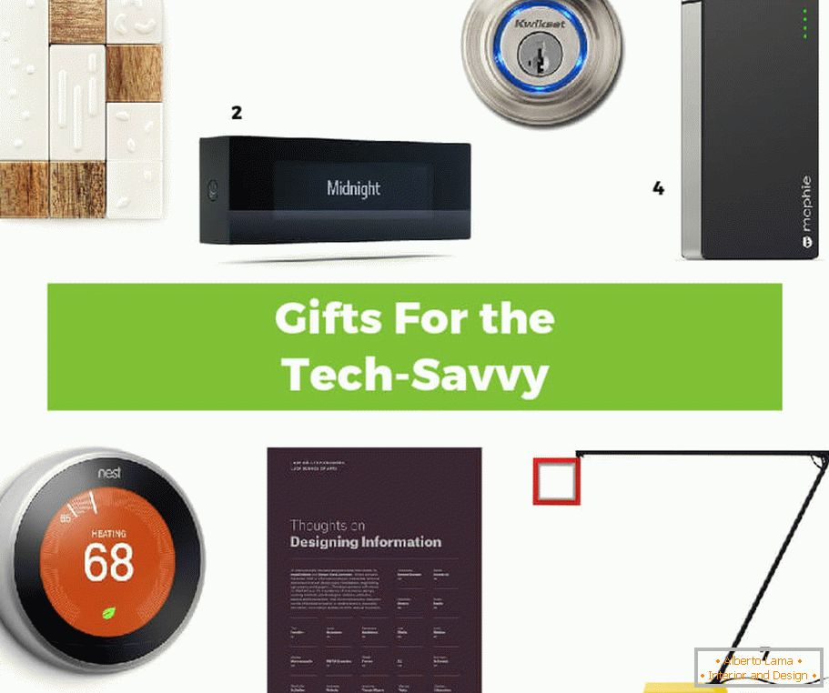 Interesting gift ideas for techno erudites