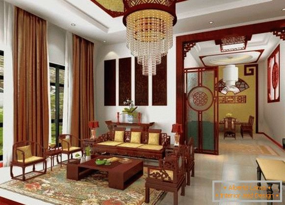 Beautiful interior in Asian style