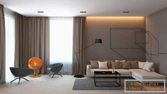 Stylish room in your house - minimalist design