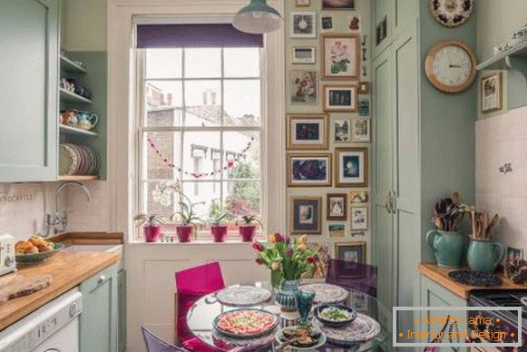Kitchen decor by own hands - original ideas and 28 photos