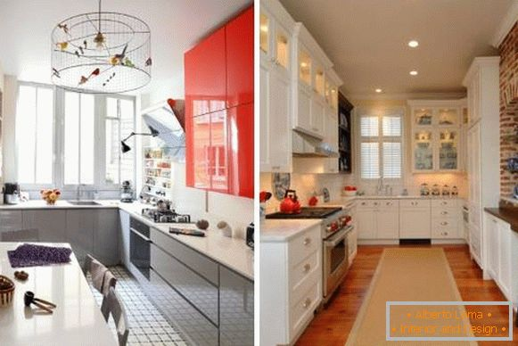 How to beautifully decorate the kitchen with lighting and lights