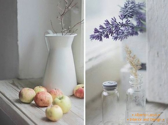 Simple but stylish window sill decoration