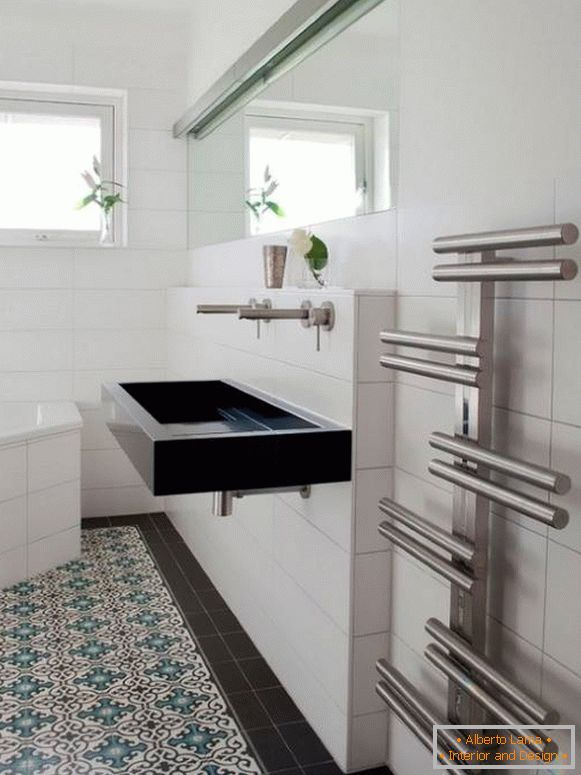 How to choose a heated towel rail in the bathroom