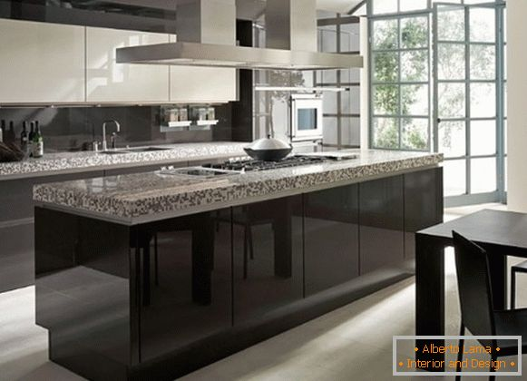kitchen furniture для кухни в стили арт-нуво