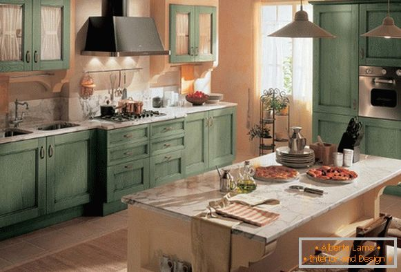 interior of kitchen furniture фото