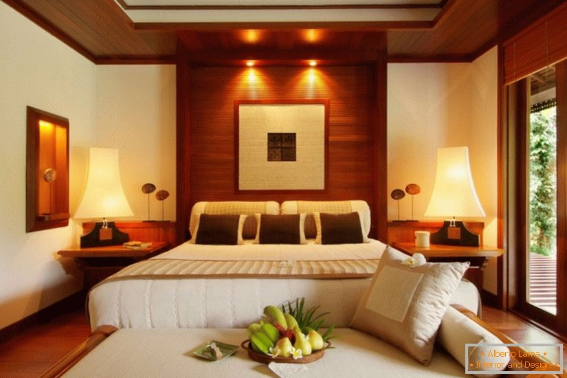 Interior of the room Luxurious class in the hotel Tanjong Jara Resort