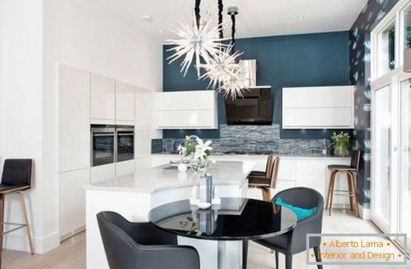 Stylish design for the big kitchen 2015