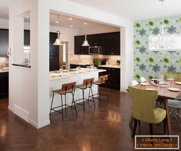 Kitchen and dining room - interior design 2015