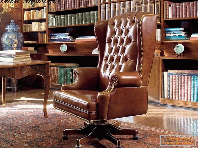 Armchair in the office