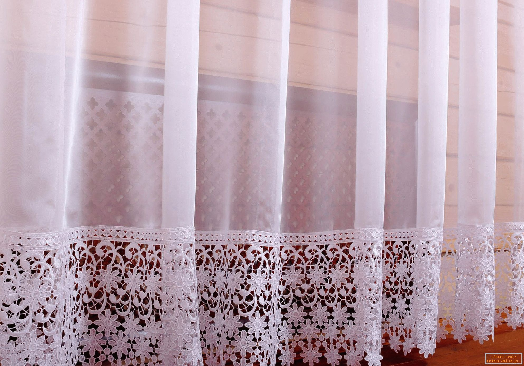 Decorating Curtains with Lace