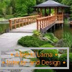 Japanese style in landscape design
