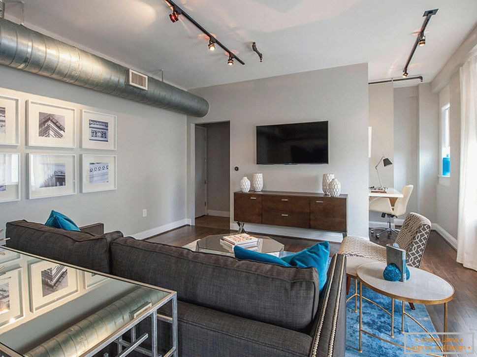 Apartment Interior in Downtown Houston - фото 2