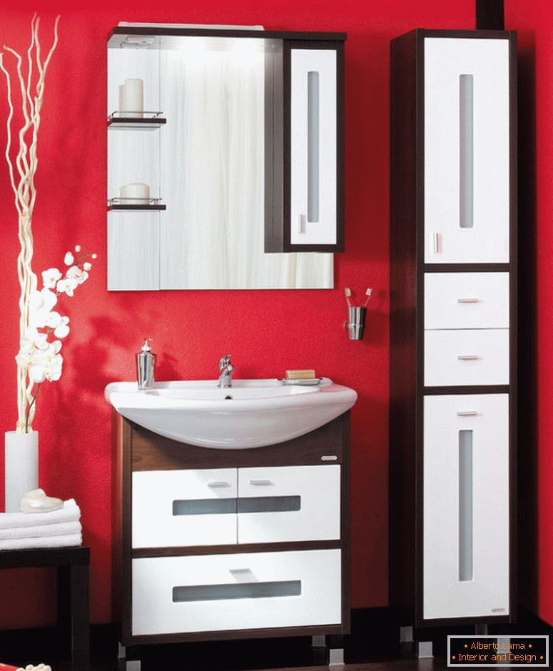 BRILLER BALI bathroom furniture