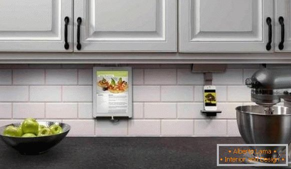 Kitchen design 2018 - high technology