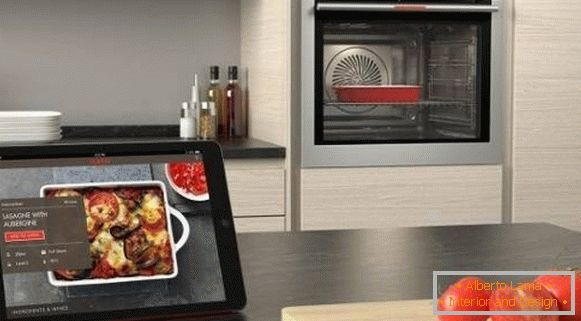 Fashion trends in kitchen design 2018 - smart technology