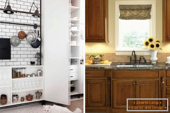 Design of the kitchen in 2018 - fashionable details
