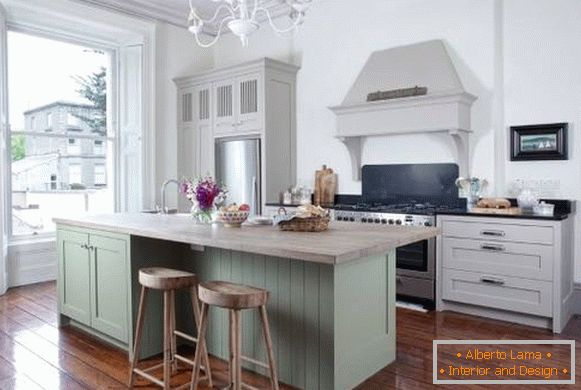 Stylish kitchen design 2018 photos - novelties of furniture