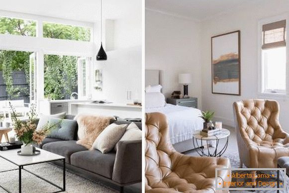 Hazelnut in the living room - official website color of the year 2017 Pantone