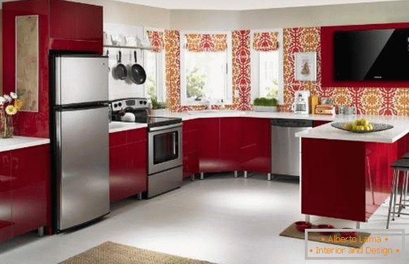 catalog of washable wallpaper for kitchen, photo 18