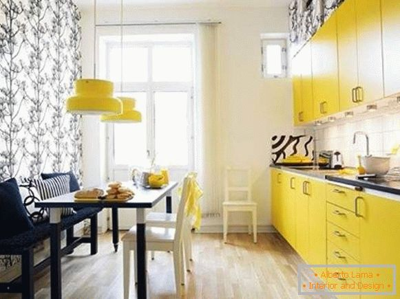 catalog of washable wallpaper for kitchen, photo 4