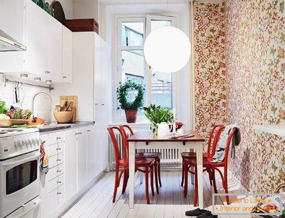 buy wallpaper washable for the kitchen photo, photo 42
