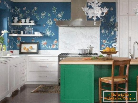 washable wall-paper for kitchen leurua merlen, photo 48