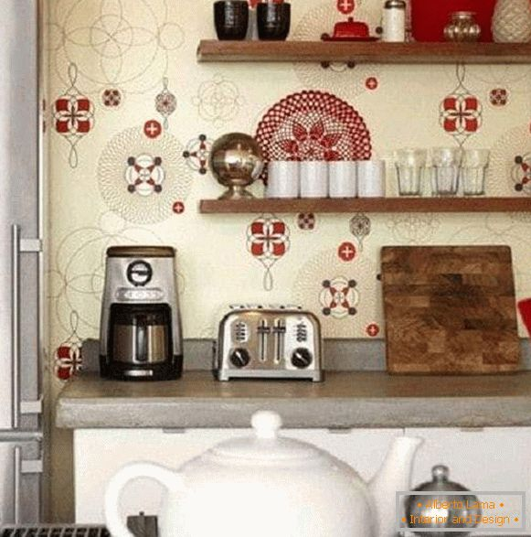 Washable Wallpaper For The Kitchen Practicality And
