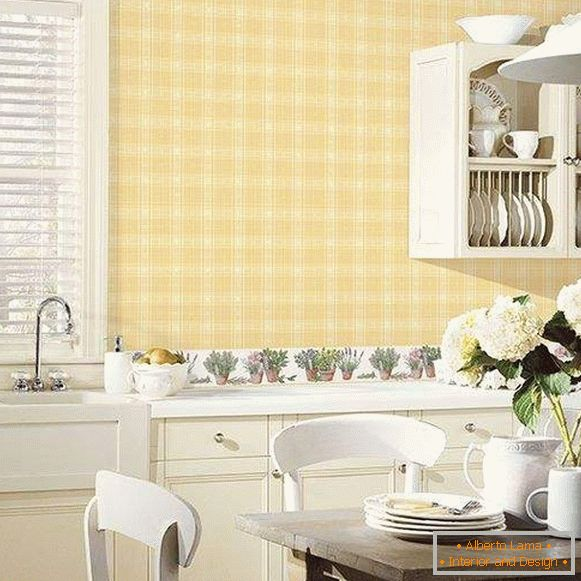 wallpaper for kitchen washable catalog leroua, photo 55