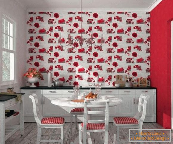 washable wallpaper for kitchen photo, photo 58