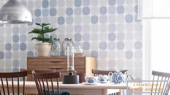 washable wall-paper for kitchen leurua merlen, photo 6