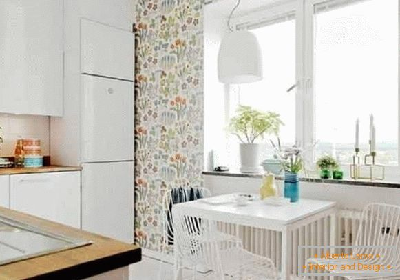 wallpaper washable for kitchen leroua, photo 61