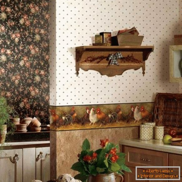 wallpaper for kitchen vinyl washable, photo 63