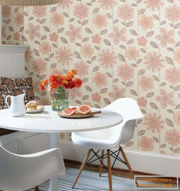 washable wallpaper for the kitchen buy, photo 64