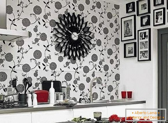 wallpaper for kitchen vinyl washable, photo 7