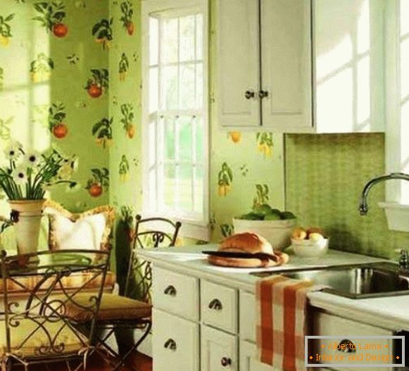 buy wallpaper washable for the kitchen photo, photo 70