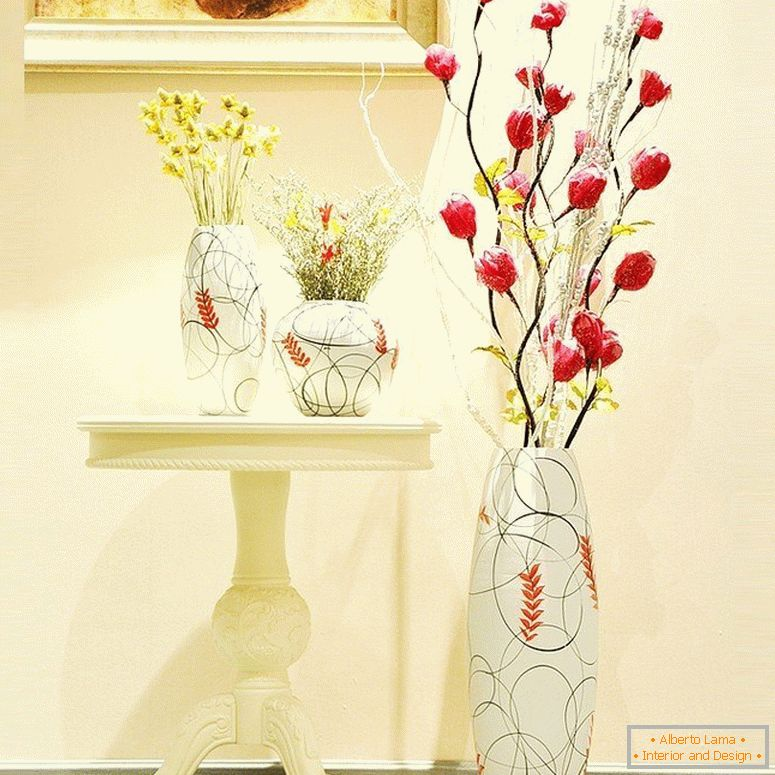 Set of vases for home