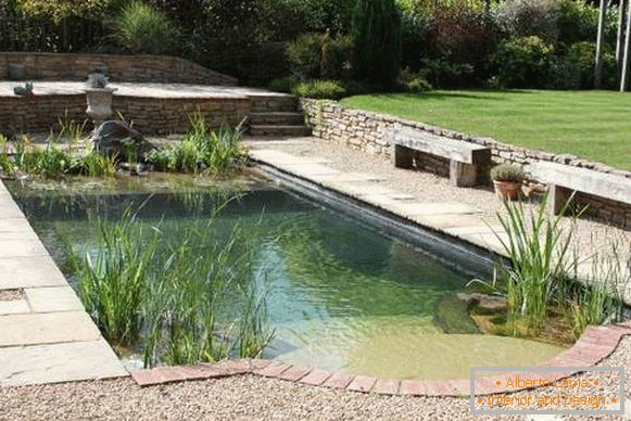 Popular ideas for a swimming pool inexpensive with a photo