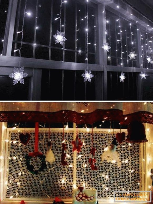 How can I use New Year's lights for the home