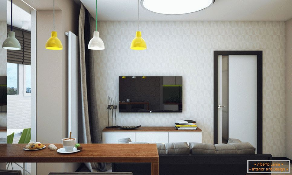 Student apartment in Novosibirsk