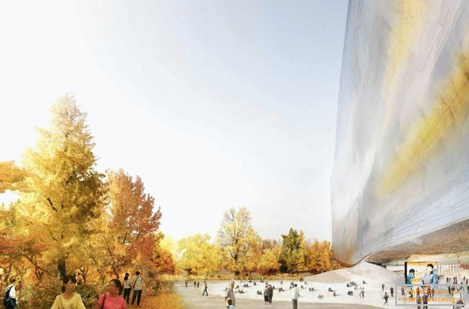 Design of the new National Museum of the Arts of China