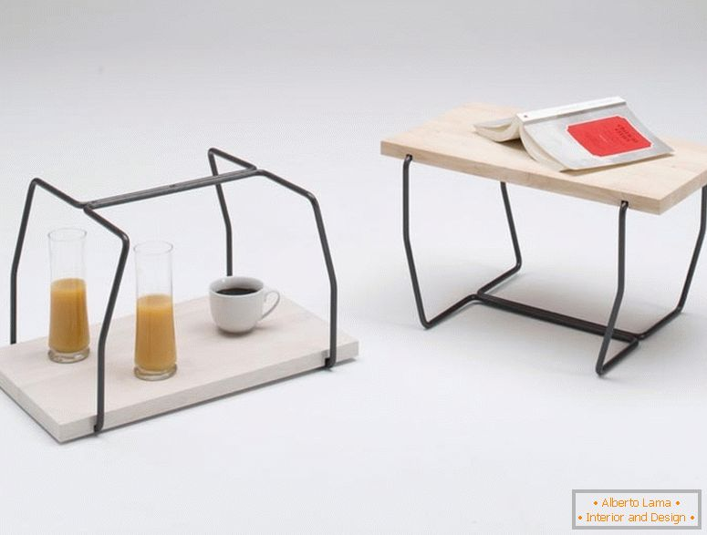 A table-flip from Maisonnette Simone Simonelli, Italy