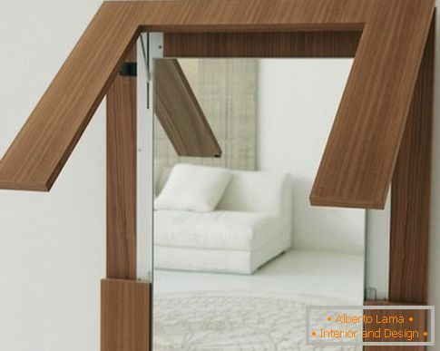 Mirror table Tip-over from Porada, Italy