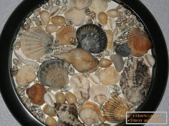 a panel of shells with their own hands, photo 3