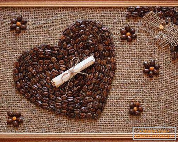 a panel of coffee beans, photo 12