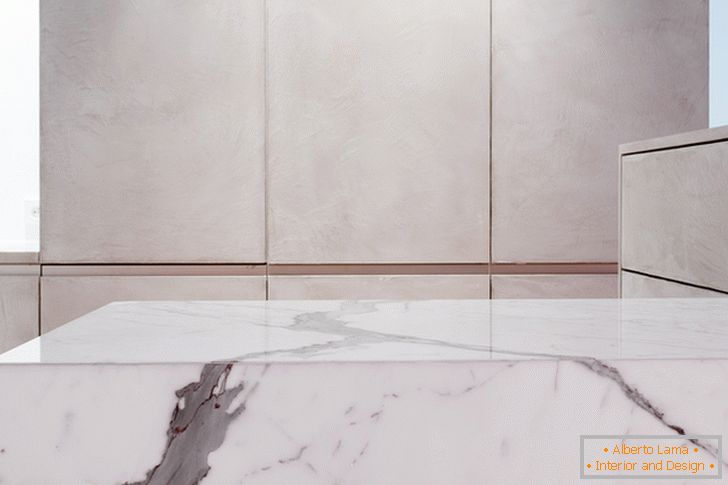 Marble countertop surface