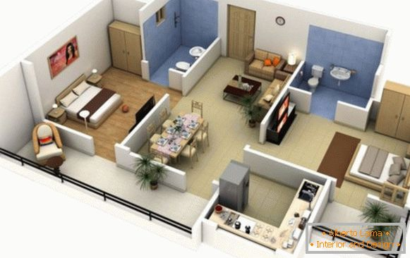 What are the programs for interior design