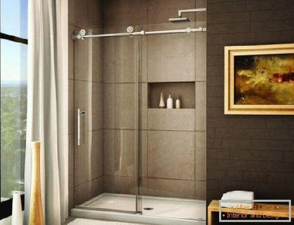 Bathroom Sliding Glass Shower Doors.Sliding Glass Shower Doors 35 Photos In The Bathroom