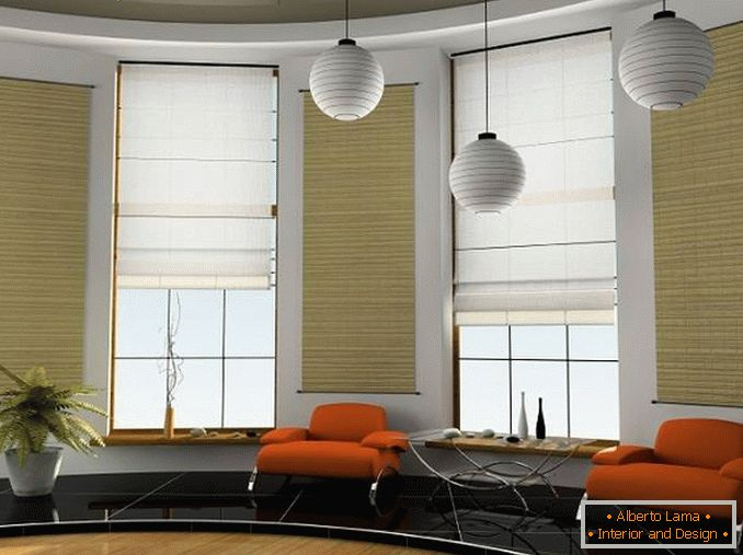 roller blinds for plastic windows, photo 12